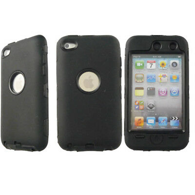 Heavy Duty Outdoor Case for Apple iPod Touch 4G Black