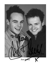 Ant And Deck Signed Photo Print 01