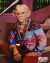 Armin Shimerman (Quark) Signed Photo Print 02