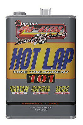 Hot Lap 101 Race Tire Softener Soak Treatment Increase Bite Detectable 1-Gal