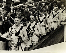Castleford (Tigers) 1935 Chalenge Cup Photo Print 01