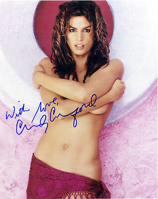 Cindy Crawford 01 Signed Photo Print