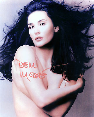 Demi Moore Signed Photo Print 02