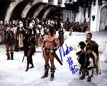 Mako (Conan The Barbarian) Signed Photo Print 01