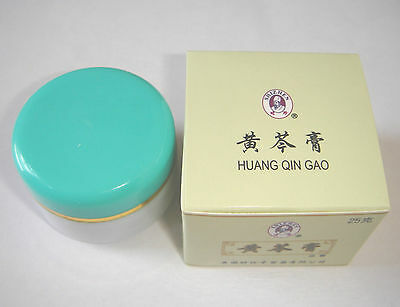 1x Huang Qin Gao Herbal Cream for ECZEMA Itchy Skin Rash PSORIASIS Abscess Boils