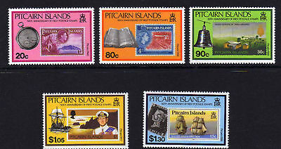 Pitcairn Is.1990 Pitcairn Stamps Set Sg 380-384 Mnh.