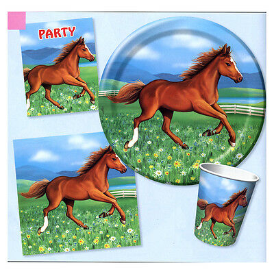 Horse Cups Party Tableware Western