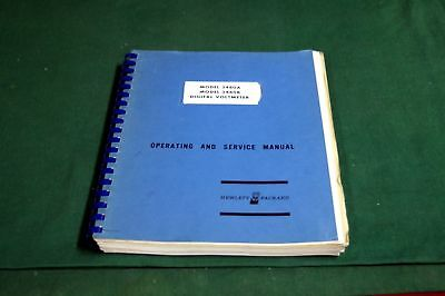 Hp 3480A-B Operating And Service  Manual