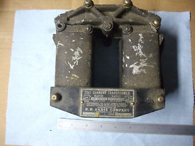 Vintage R.b. Annis Company Split Core Current Transformer Usa