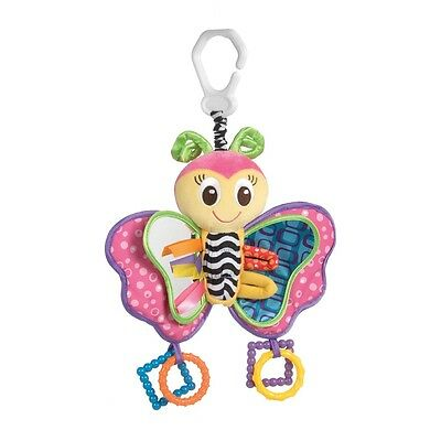 Brand New Playgro Butterfly Activity Clip On Baby Toy 0m+
