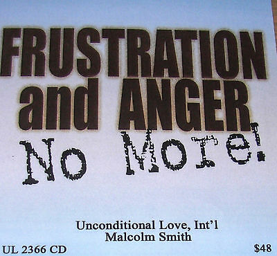 """Malcolm Smith""""Frustration & Anger No More! 6hrs on 6 cd"""