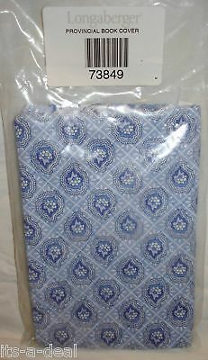 Longaberger PROVINCIAL Paisley Paperback BOOK COVER New