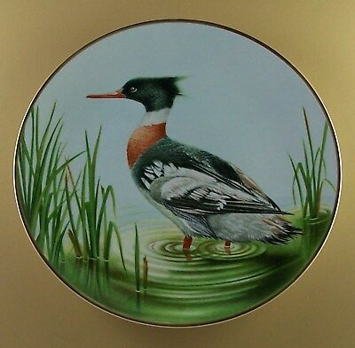 The Waterbird Plates Plate Red Breasted Merganser