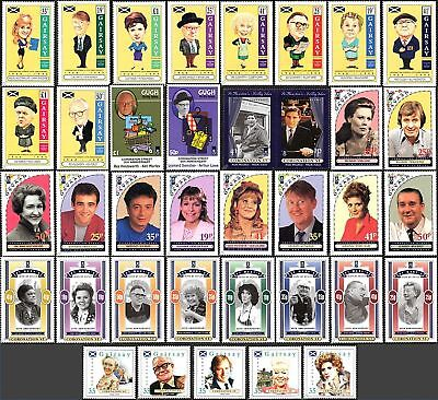 CORONATION STREET Collection of 37 Genuine Local Stamps