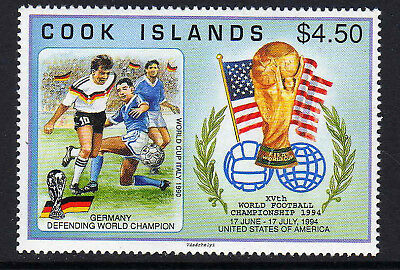 Cook Is.1994 World Cup Set Sg 1337 Mnh.