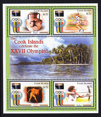 Cook Is.2000 Olympic Games Set Sg 1438-1441 Mnh.