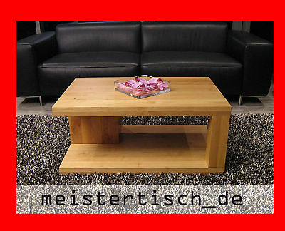 couchtisch loungetisch wohnzimmer erle massiv echt holz 90cm x 60cm modell mt02. Black Bedroom Furniture Sets. Home Design Ideas