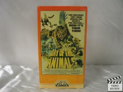 Day of The Animals VHS Leslie Nielsen, Ruth Roman