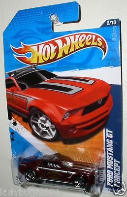 Hot Wheels FORD MUSTANG GT CONCEPT Grandview, TX-FD '11
