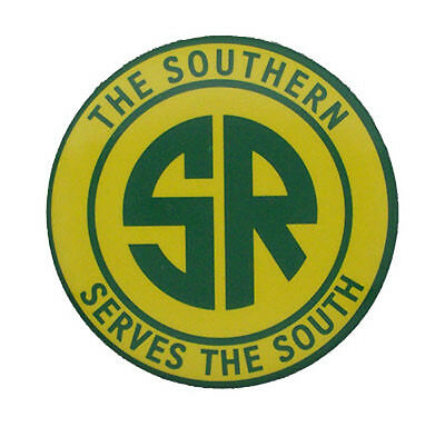 Southern Railway Serves The South RR Magnet #58-1480