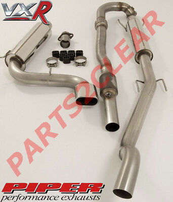 "Piper Performance Exhaust 3"" Turbo Back With Sports Cat Replace For Astra Vxr"