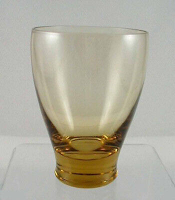 Russel Wright AMERICAN MODERN Glassware- Chartreuse JUICE Tumbler by Morgantown