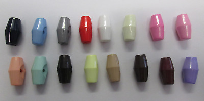 2, 4, 6, 8 Or 10 Plastic Toggle Buttons 19Mm Various Colours Baby Knit