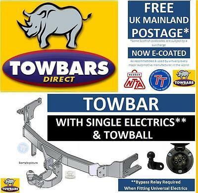 Towbar for Toyota Avensis Estate Est (T25) 2003-2009 Kit with Ball & Electrics