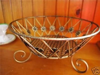 Hand Iron French Style Fruit Basket Bowl B