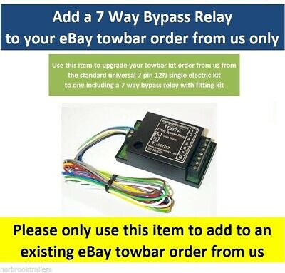 Bypass (interface) Relay 7 Way Universal Upgrade Kit TEB7AS Smart relay
