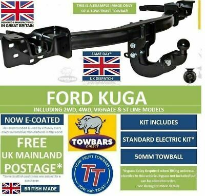 Flange towbar for Ford Kuga 2WD & 4WD 2008on including 2013 Facelift TFD2 C520
