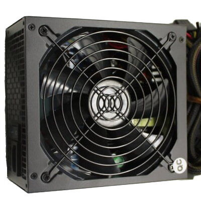 1000W Gaming 140MM Fan Silent ATX Power Supply SATA 12V Dual PCI-e Cables