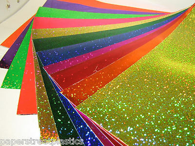 Glittering Sign Vinyl 24 Inch x 10 feet,  LongLife  Holographic Sequins Sparkle