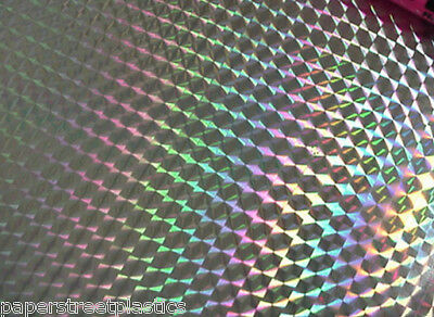 """Prism Sign Vinyl 24 Inch  x 30 ft,  Any Color of 1/4"""" Mosaic, Holographic Colors"""