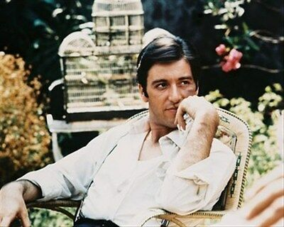 "AL PACINO AS DON MICHAEL CORLEONE F Poster Print 24x20"" iconic photo 25126"