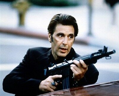"""AL PACINO AS LT. VINCENT HANNA FROM Poster Print 24x20"""" wonderful image 222243"""