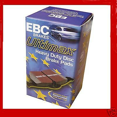 Saab 9-3 93 1.9 Td 2003- Ebc Ultimax Front Brake Pads