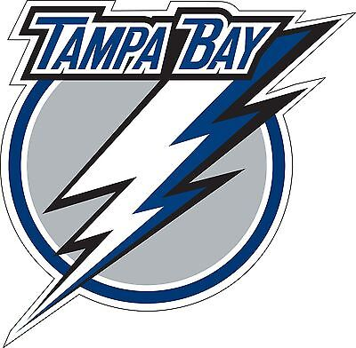 "Tampa Bay Lightning NHL Hockey wall decor sticker large vinyl decal, 9.5""x 9.5"""