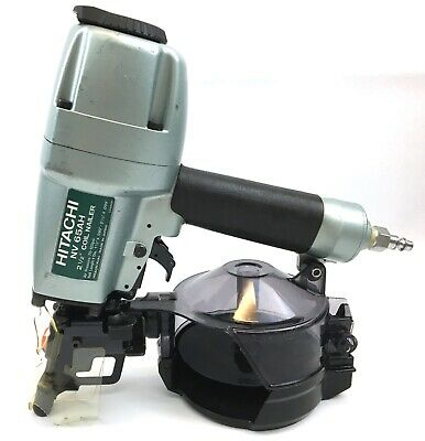 "Hitachi New MADE IN JAPAN NV65AH Wire & Plastic 2-1/2"" Coil Siding Nailer Hardie"