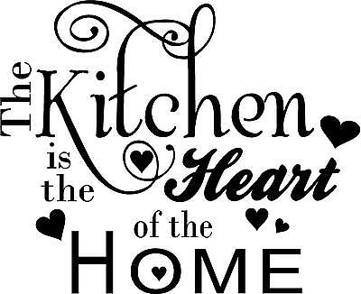 QUOTE-THE KITCHEN IS THE HEART OF THE HOME