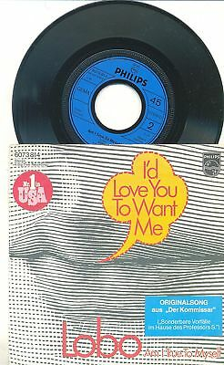 LOBO-I'D LOVE YOU TO WANT ME-ORIG. GERMAN PS 45rpm 1972
