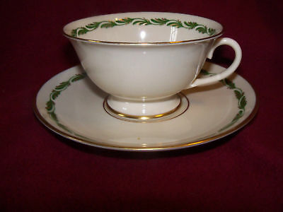 Franciscan Arcadia Green Cup & Saucers