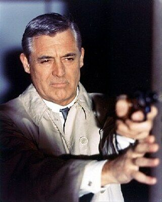 """CARY GRANT AS PETER JOSHUA FROM CHA Poster Print 24x20"""""""