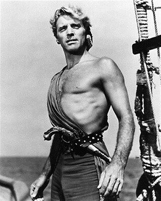 """BURT LANCASTER AS CAPT. VALLO FROM  Poster Print 24x20"""" classic pic 187162"""