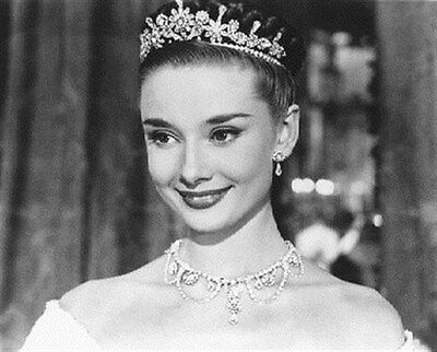 """AUDREY HEPBURN AS PRINCESS ANN FROM Poster Print 24x20"""" lovely pic 172897"""