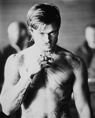 BRAD PITT AS MICKEY FROM SNATCH bare knuckle boxing Poster Print 24x20""