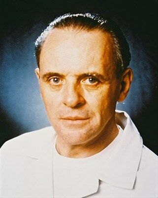 ANTHONY HOPKINS AS DR. HANNIBAL LECTER FROM  8x10 Photo lovely image 26091