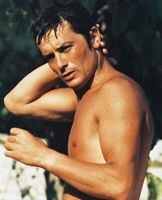ALAIN DELON 8x10 Photo nice pic 216845