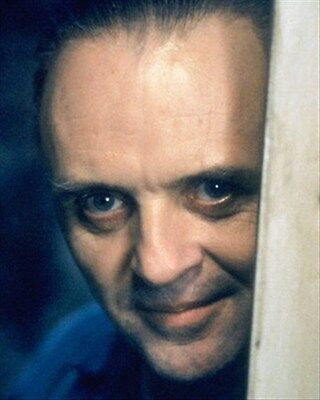 ANTHONY HOPKINS AS DR. HANNIBAL LECTER FROM  8x10 Photo Nice image 215030