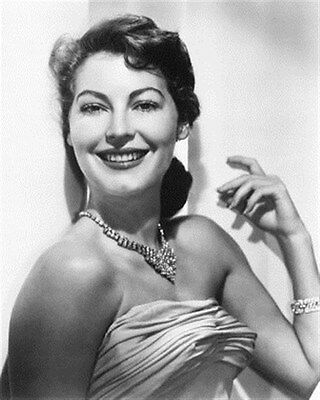AVA GARDNER 8x10 Photo classic photo 175723